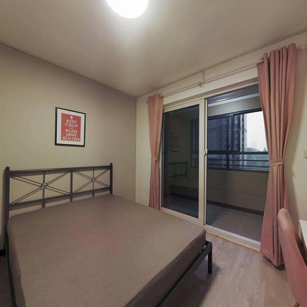 合租·保利公园九里四期 3室1厅 北卧室图