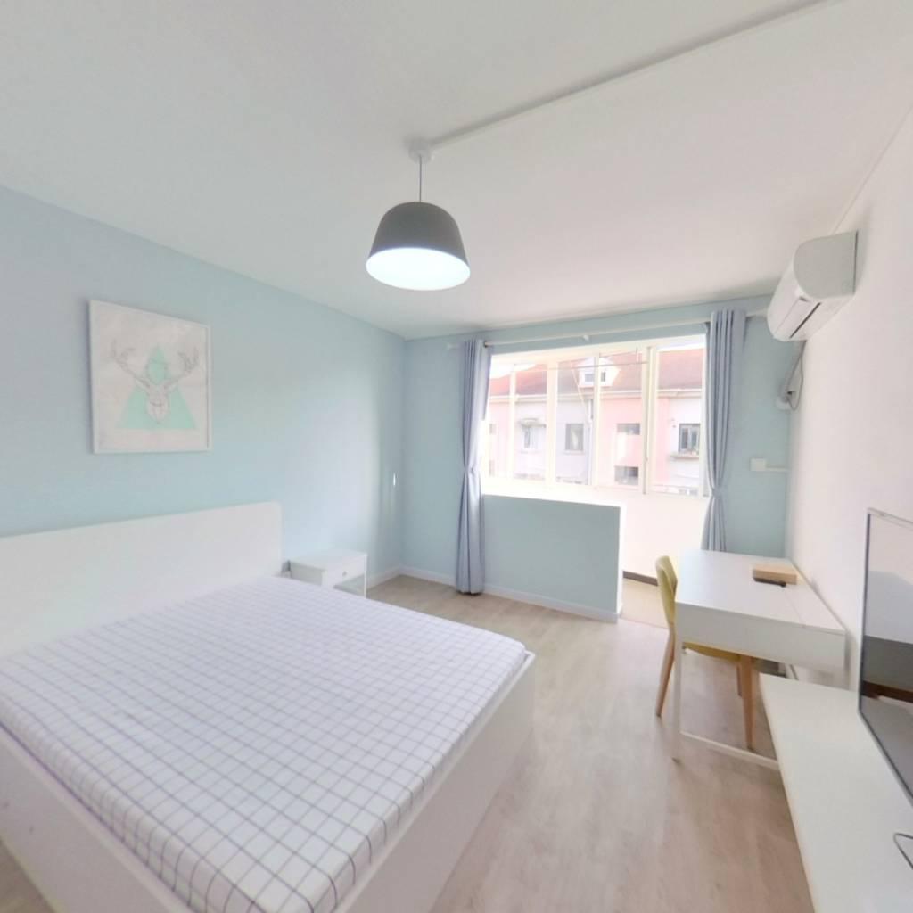 整租·杜鹃园 2室1厅 南卧室图