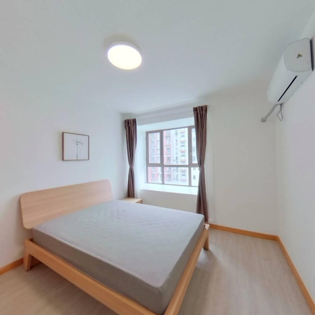 整租·绿庭尚城 1室1厅 南卧室图
