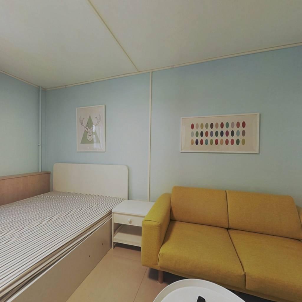 整租·西便门内大街97号院 2室1厅 南北卧室图
