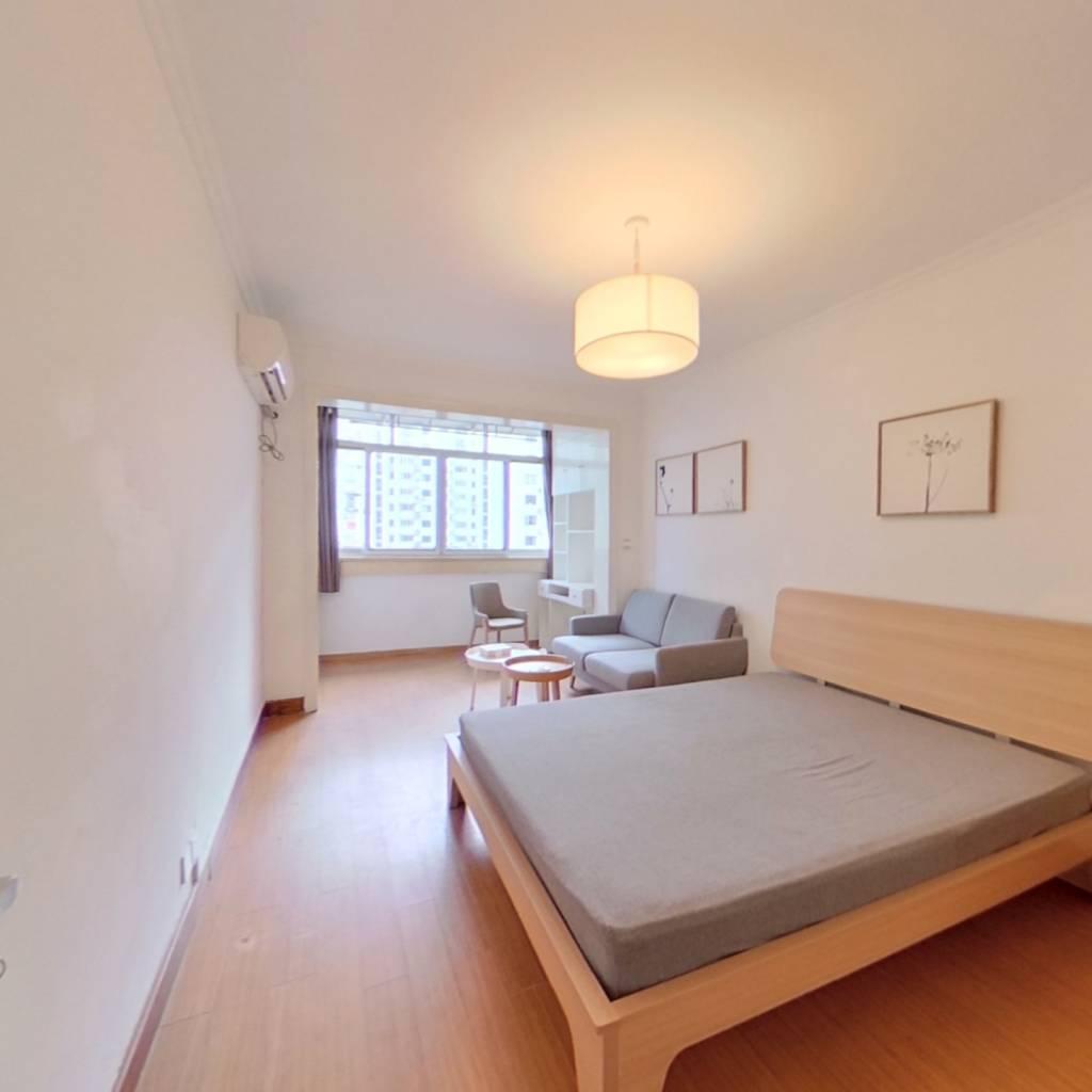 整租·精益公寓 1室1厅 南卧室图