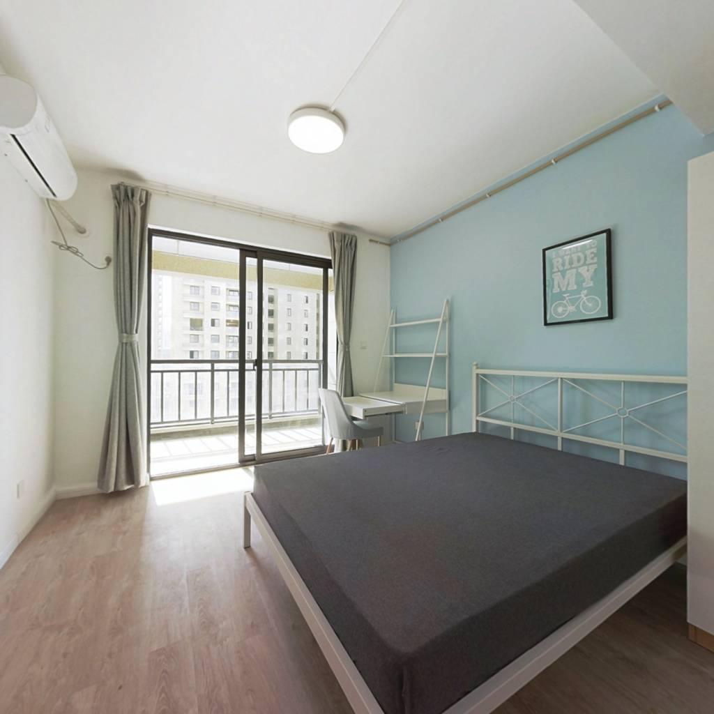 合租·城北尚博苑二区 2室1厅 南卧室图