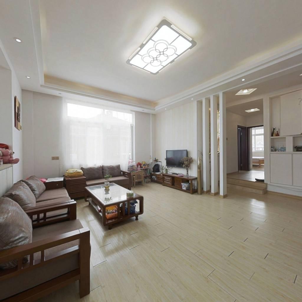 居家装修满两年 两层复式格局好,视野开阔