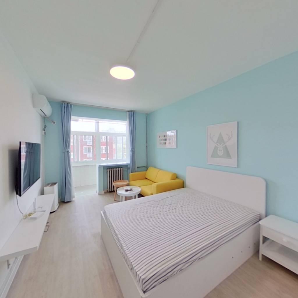 整租·六建 2室1厅 南卧室图