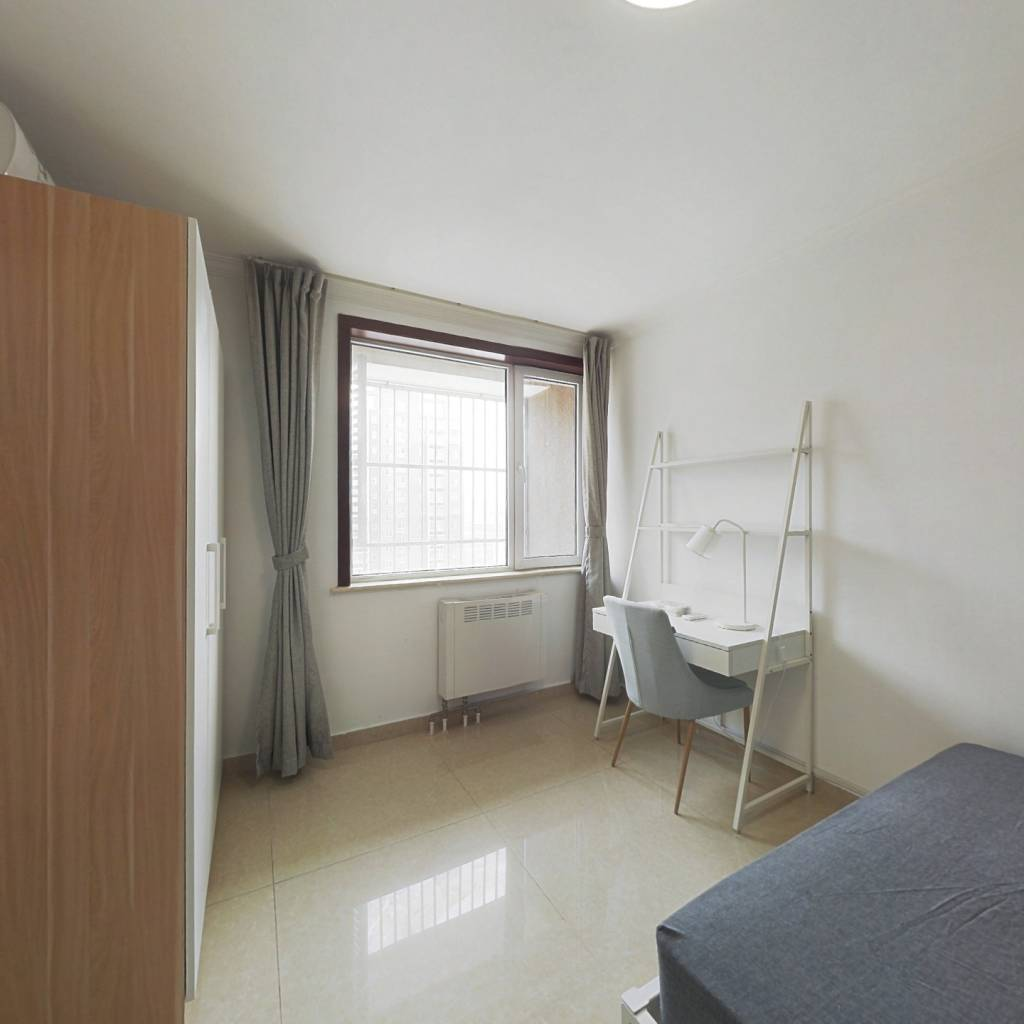 合租·姚家园东里7号院 3室1厅 南卧室图