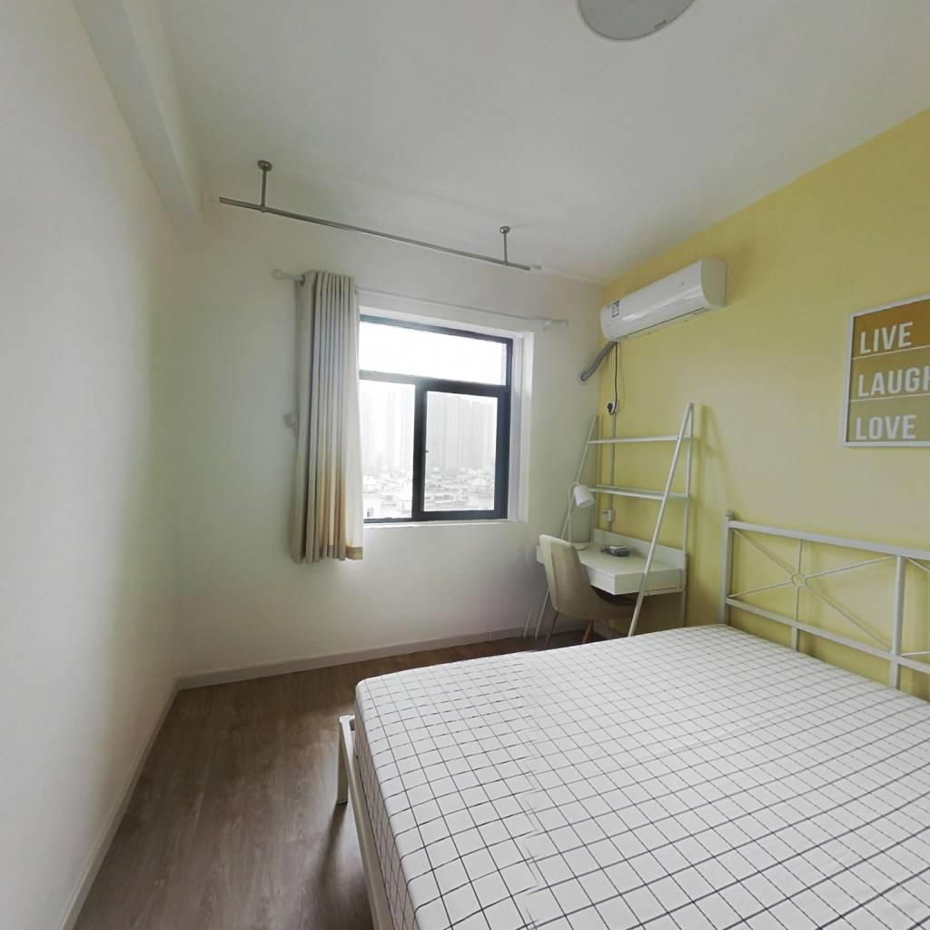 合租·现代森林花园 4室1厅 北卧室图