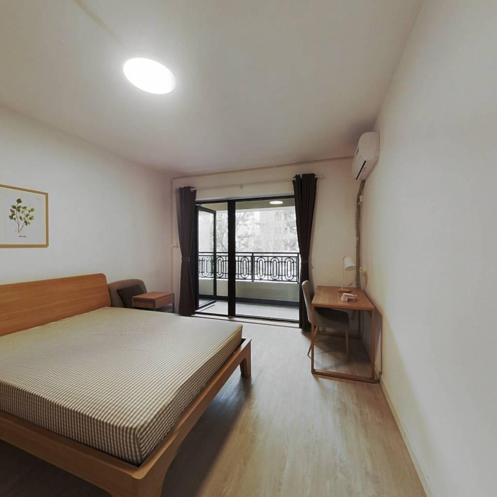 合租·融创融公馆 4室1厅 北卧室图