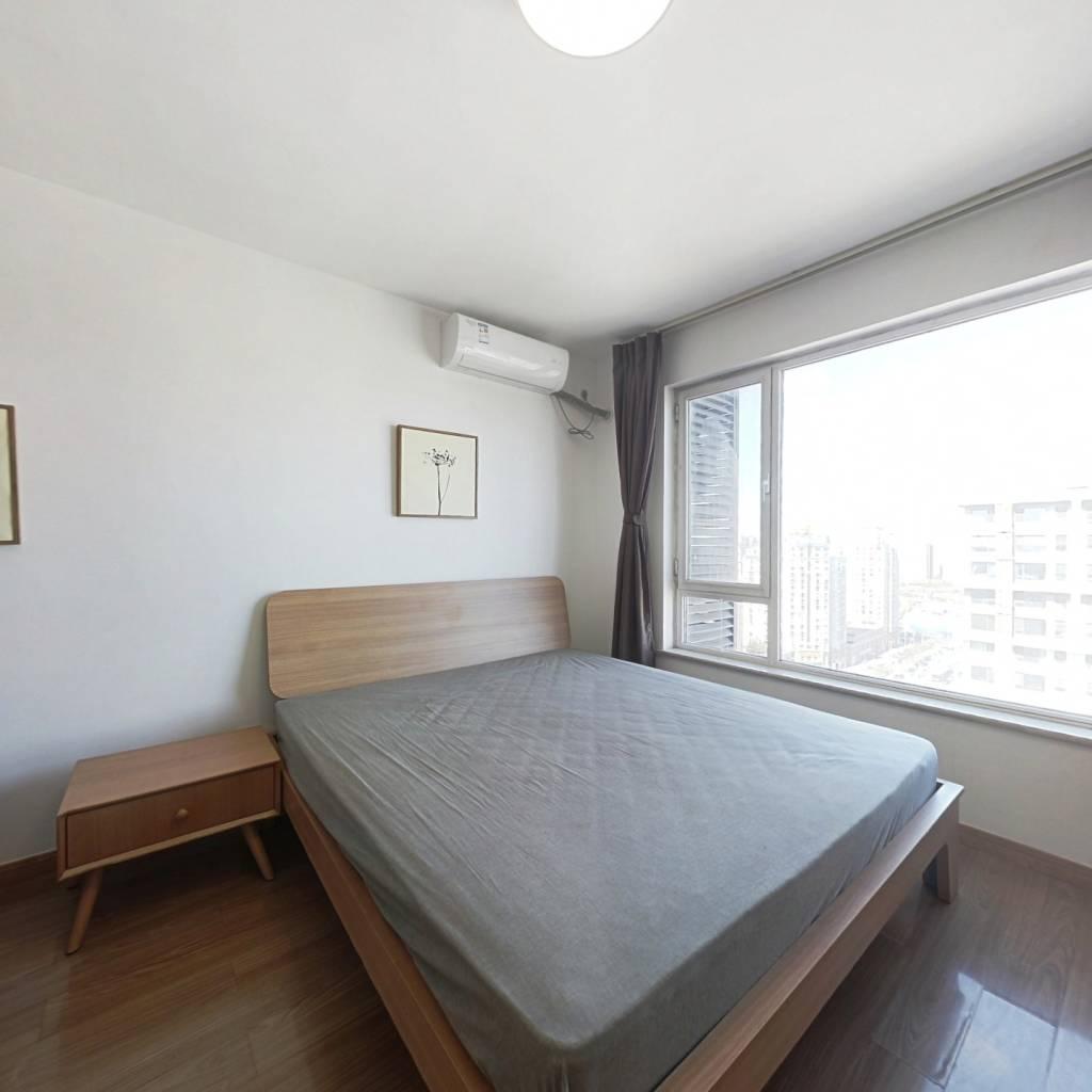 整租·東亞三環 1室1廳 北卧室圖