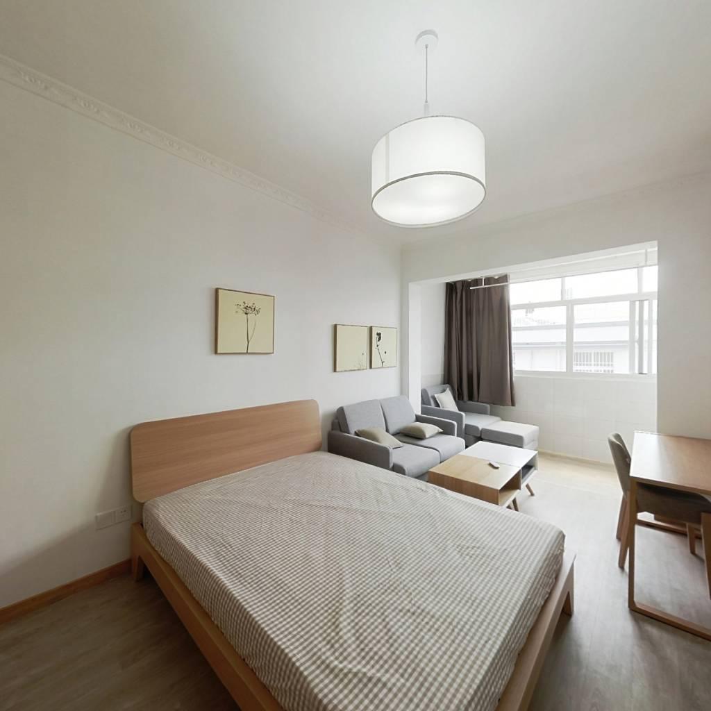 整租·豆腐坊 2室1厅 南卧室图