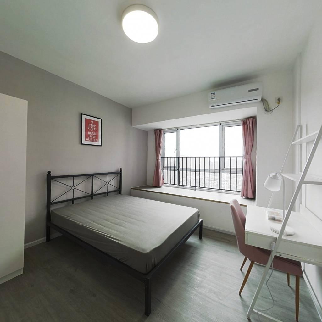 合租·新景鼎南川宇 4室1厅 西卧室图