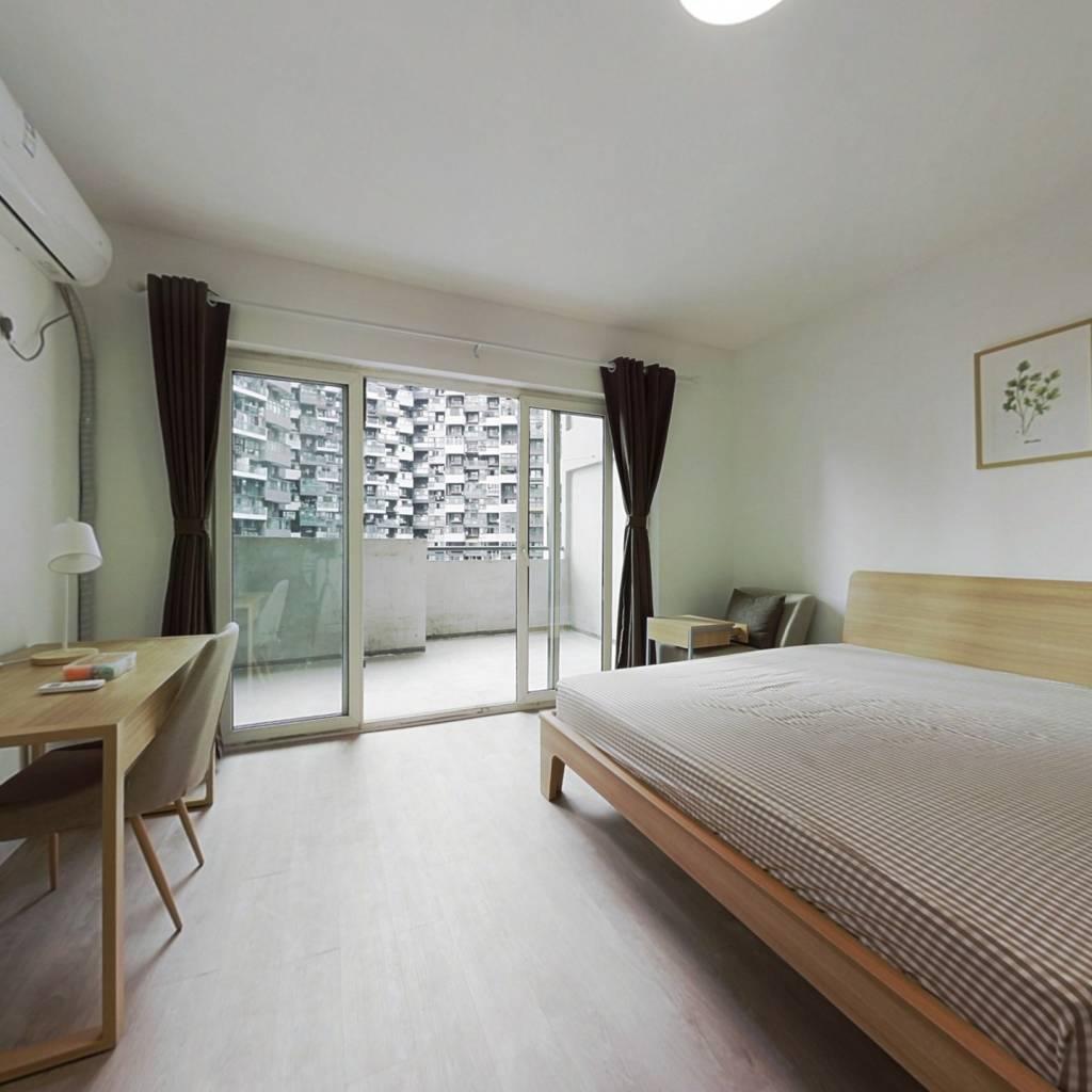 合租·蓝光凯丽香江 4室1厅 西南卧室图