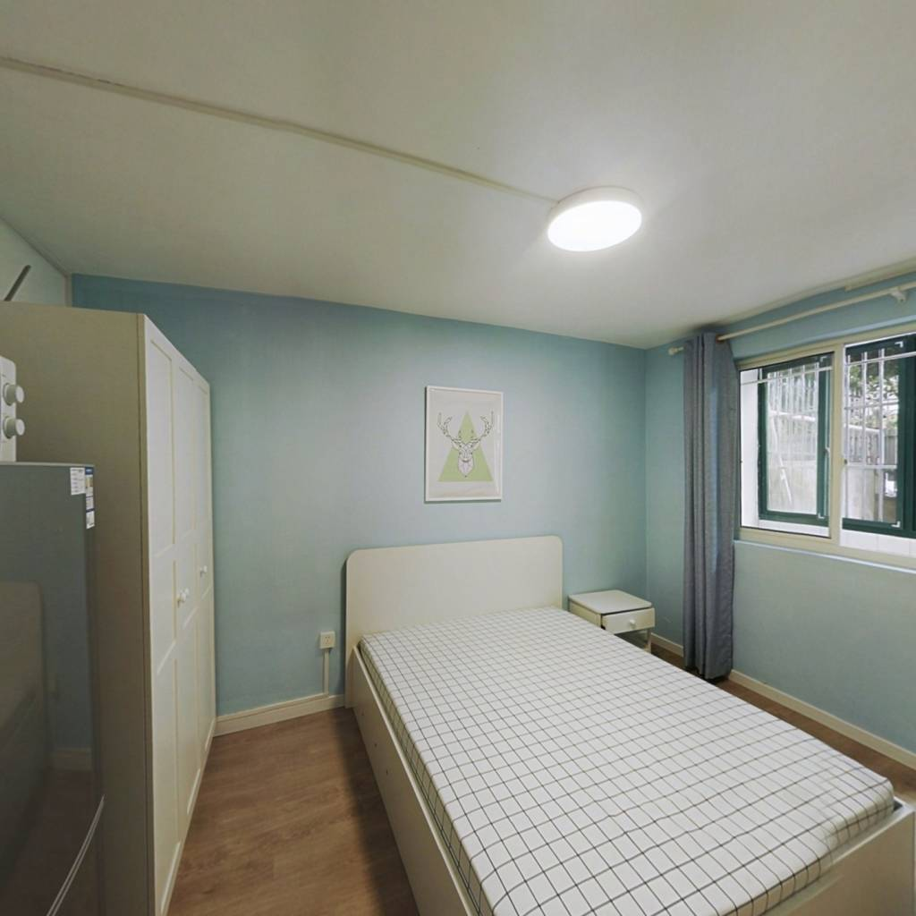 整租·星梅花苑 1室1厅 南卧室图