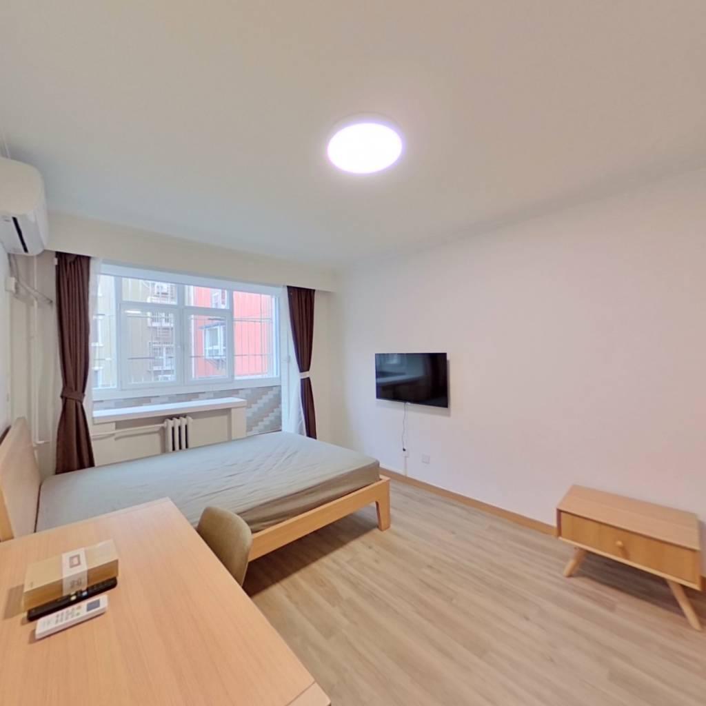 整租·会城门小区 1室1厅 南卧室图