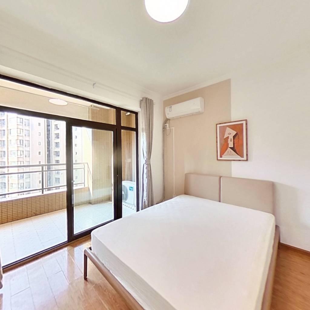 合租·领馆国际城 4室1厅 西南卧室图
