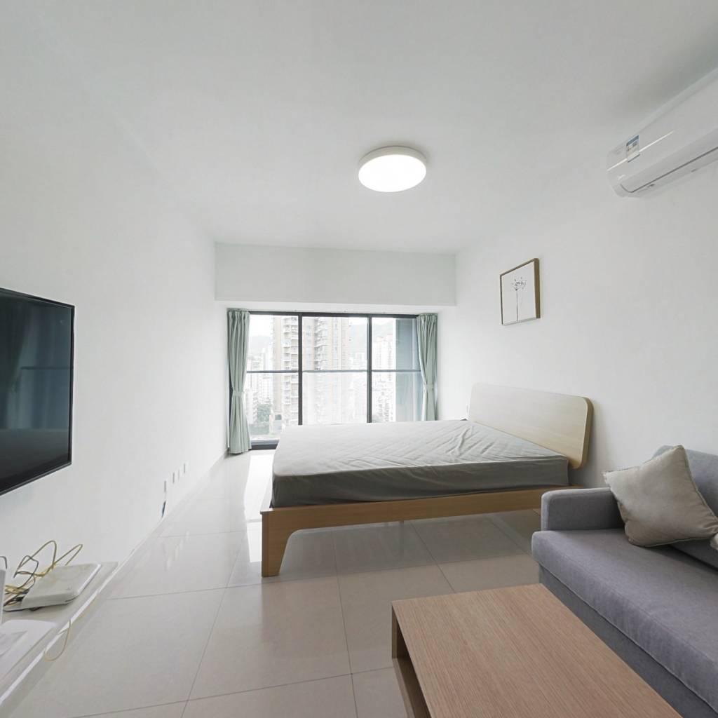 整租·四海公寓 1室1厅 南卧室图