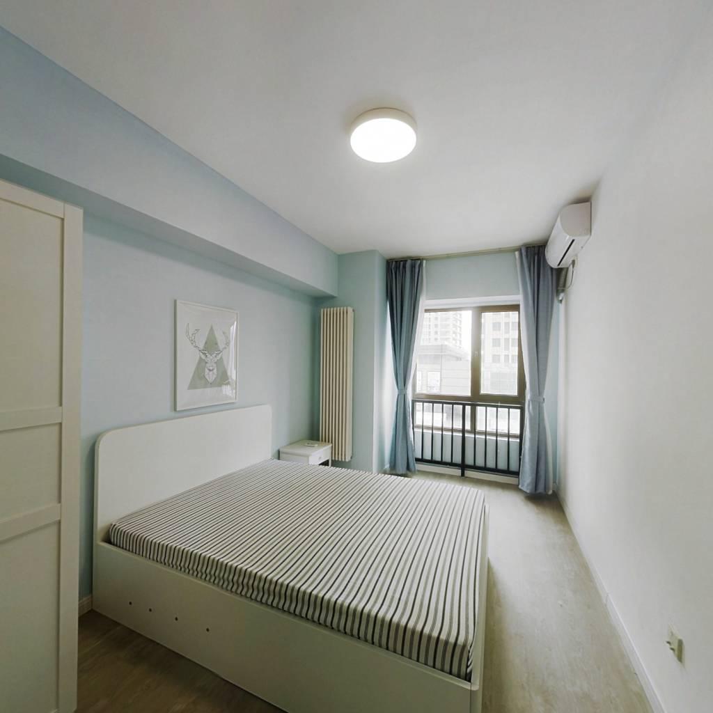 整租·林奥嘉园 2室1厅 东北卧室图