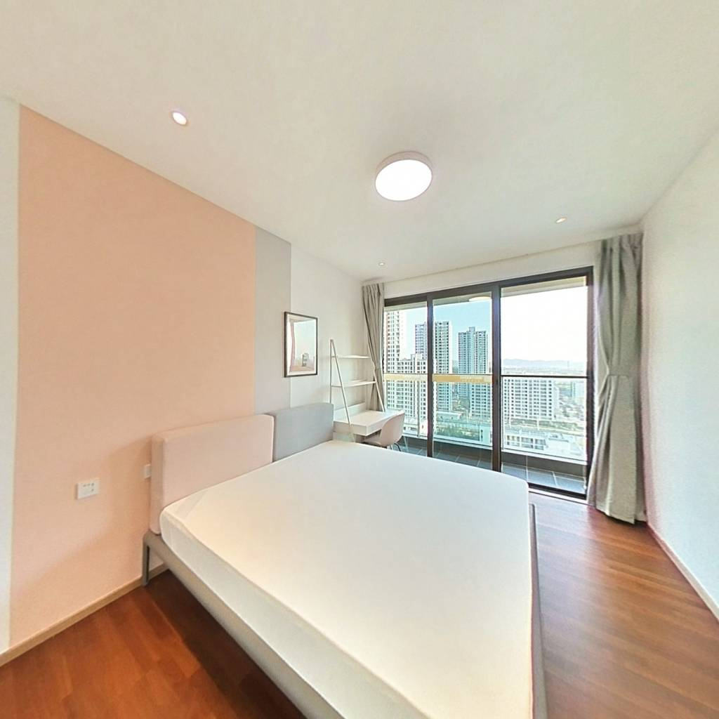合租·光谷创新天地 5室1厅 南卧室图