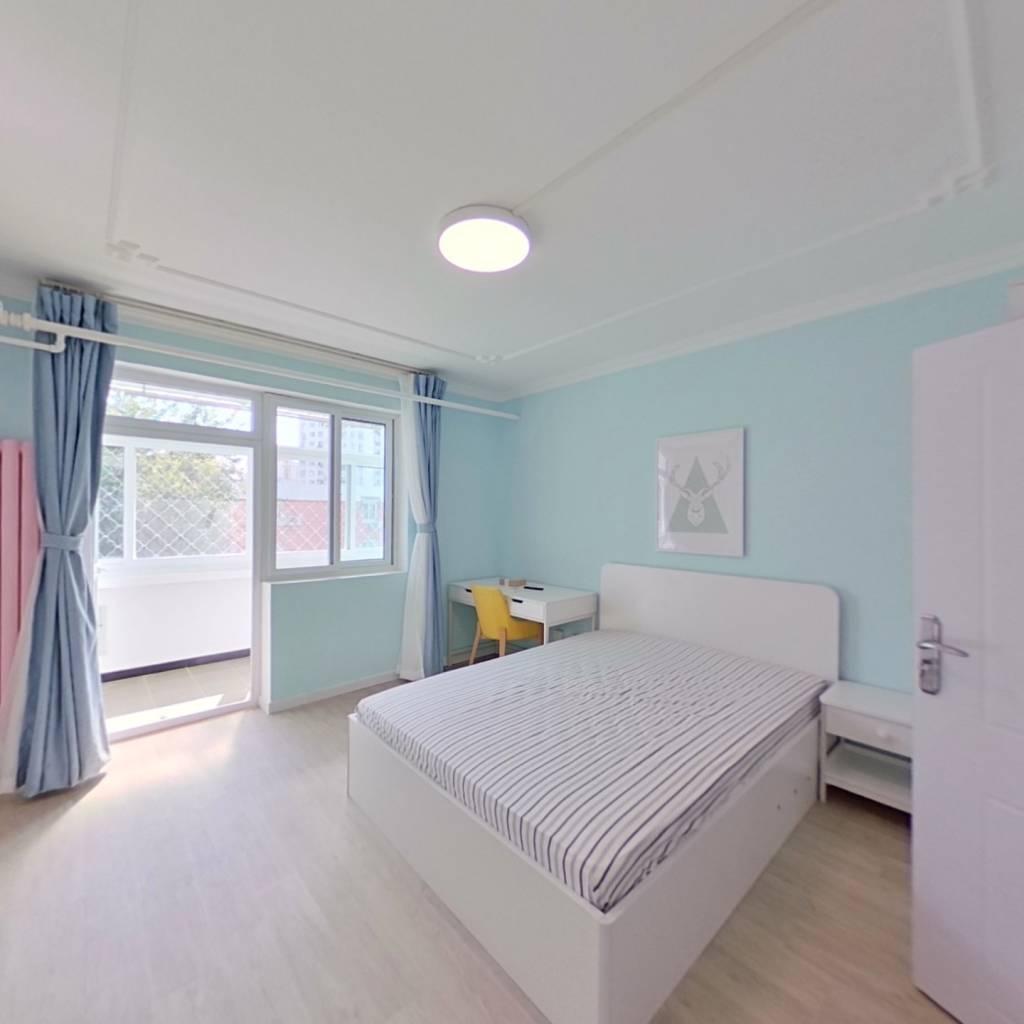 整租·裕中西里 1室1厅 卧室图