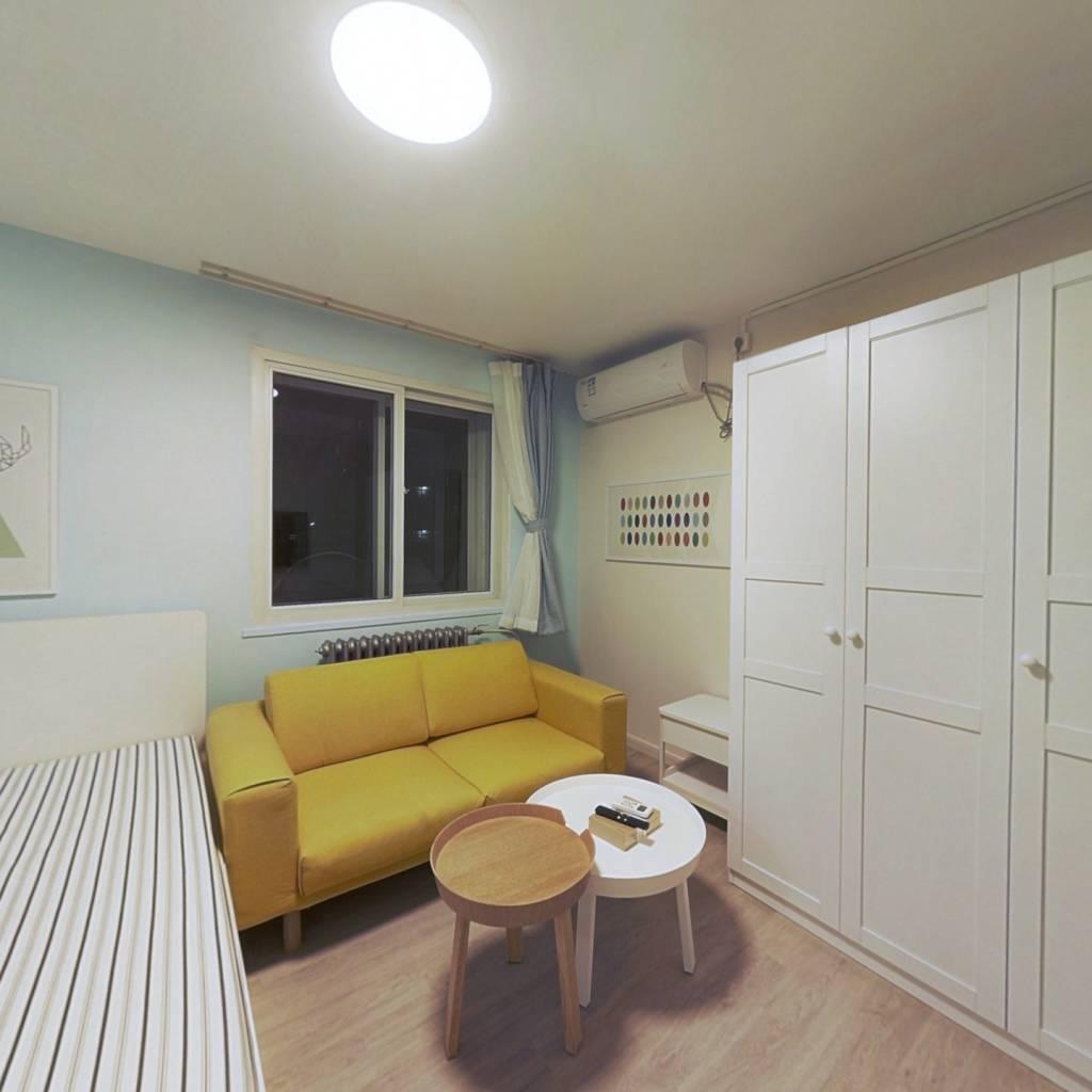 整租·庆有西里 1室1厅 南卧室图