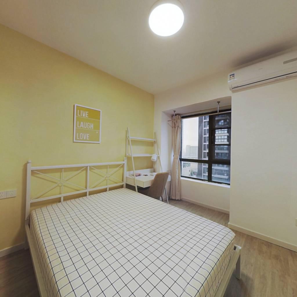 合租·石桥花园H1 3室1厅 南卧室图