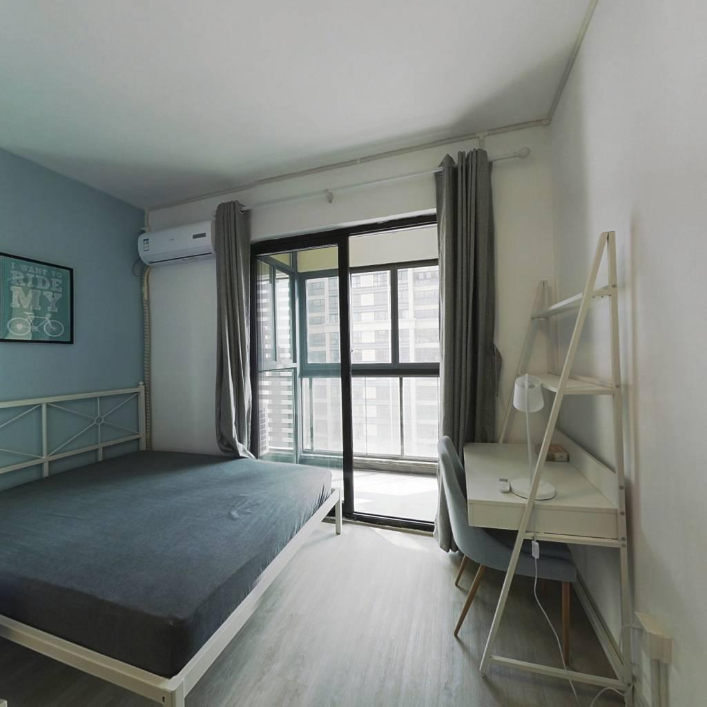 合租·楚天都市雅园 3室1厅 南卧室图