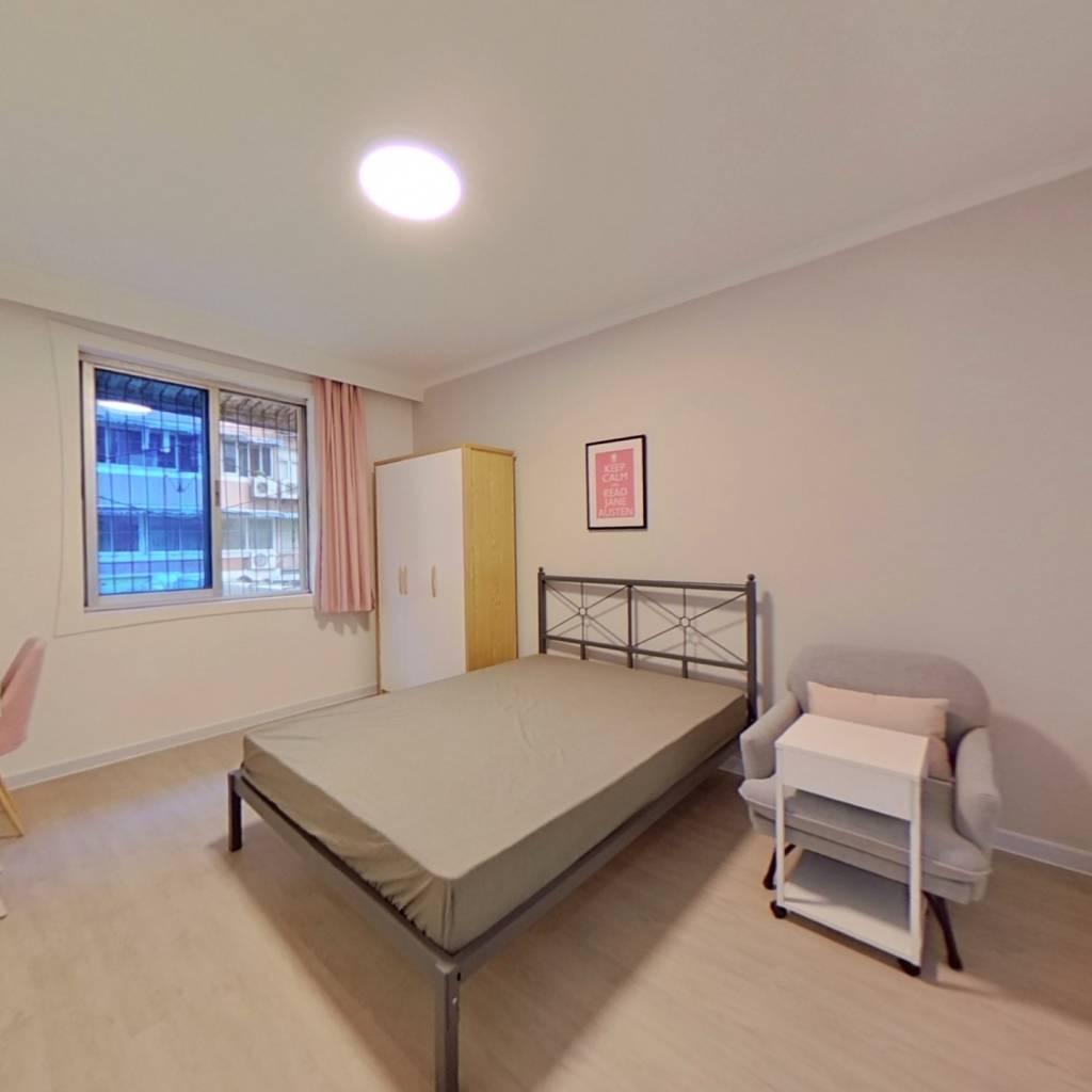 合租·祥和里166号 4室1厅 东北卧室图
