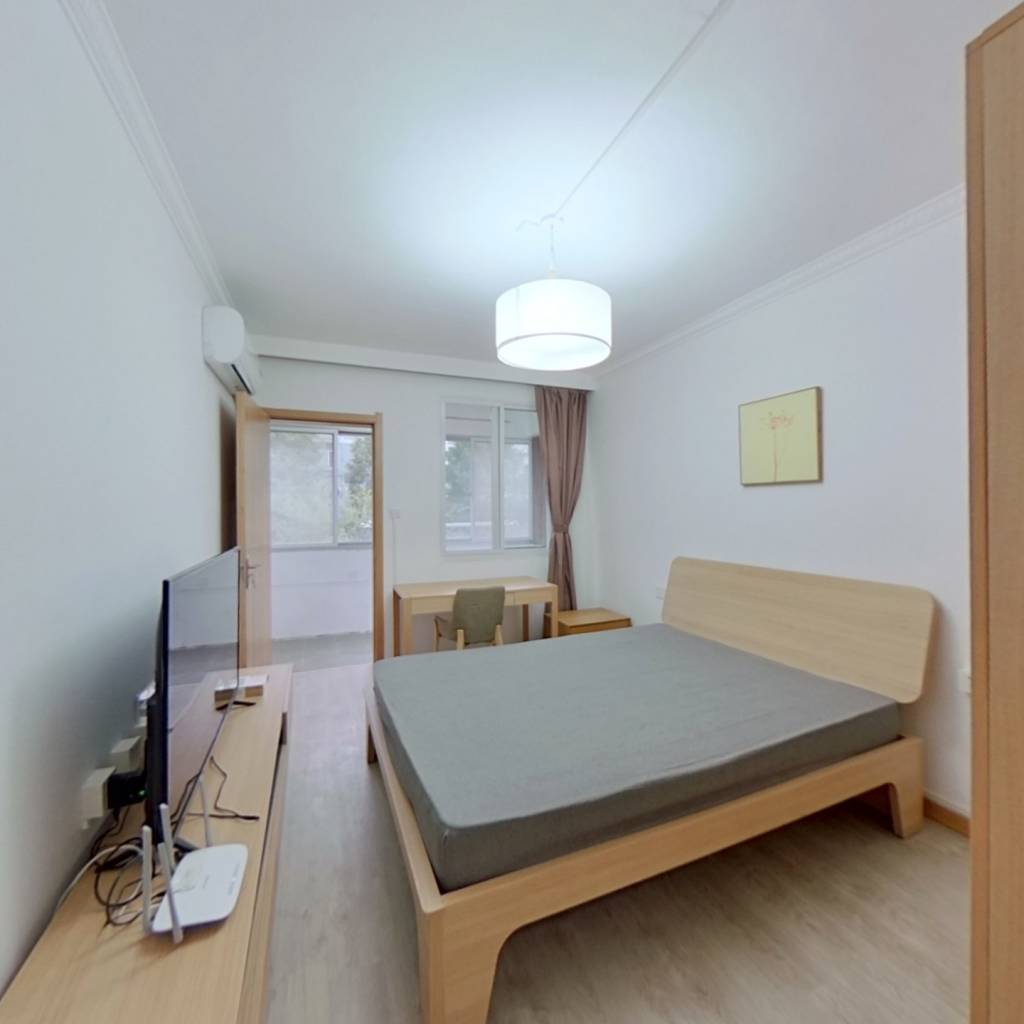 整租·德胜新村 2室1厅 南卧室图