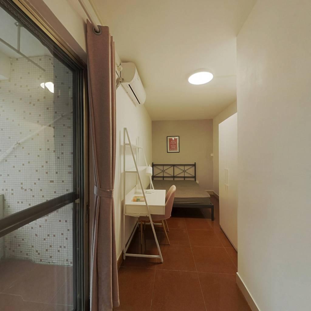 合租·广海花园 3室1厅 南卧室图