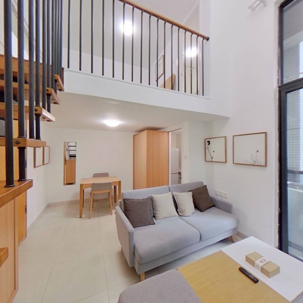 整租·铂林国际公寓 1室1厅 东卧室图