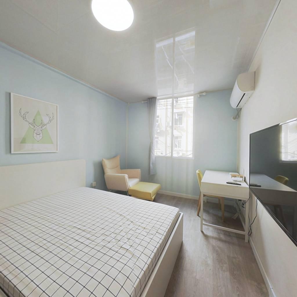 整租·崂山二村 1室1厅 北卧室图