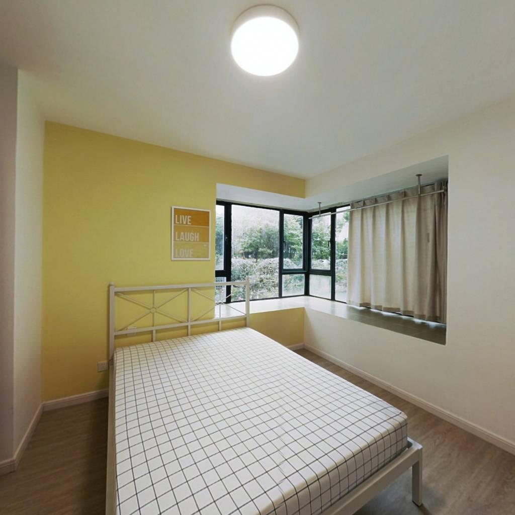 合租·建德国际公寓 3室1厅 北卧室图