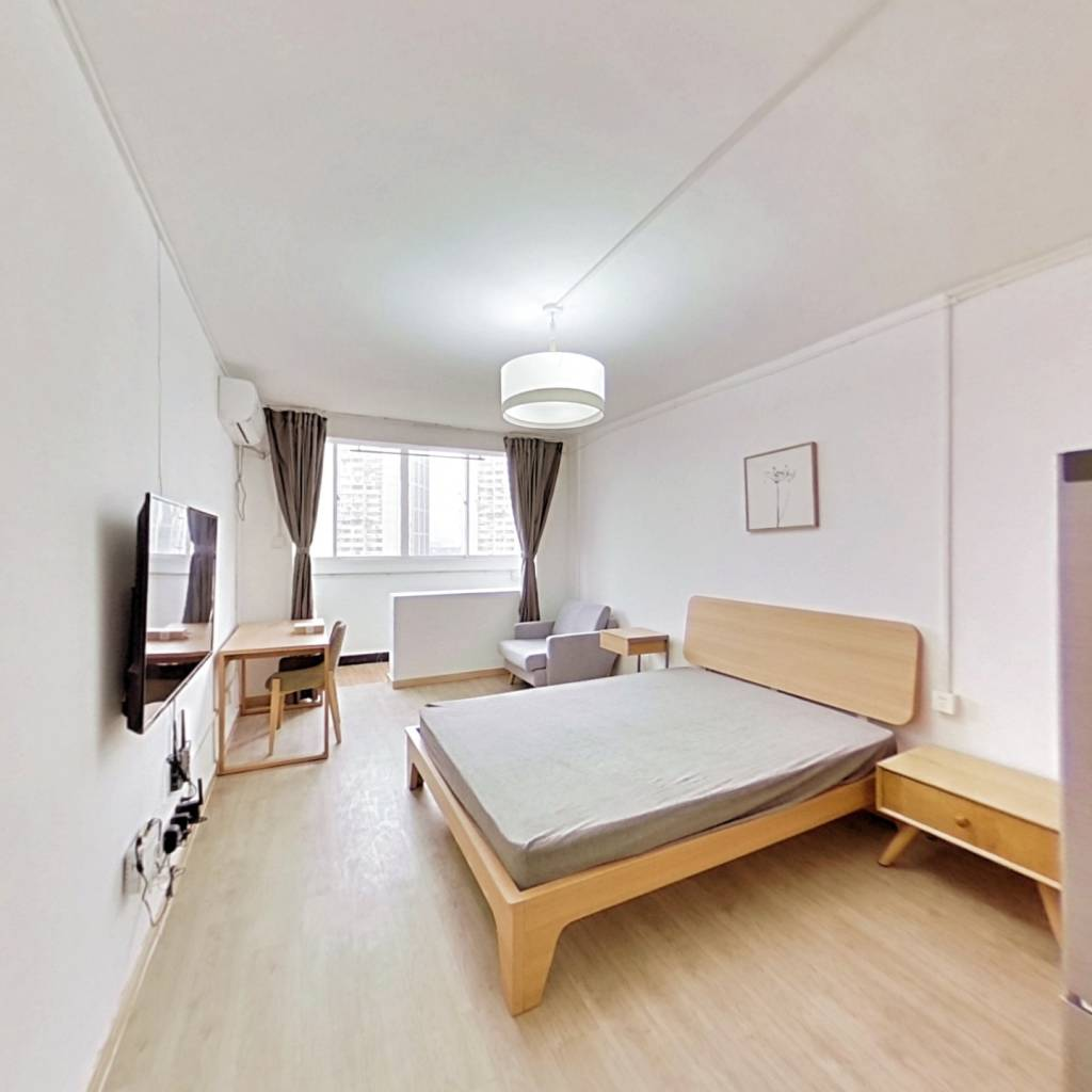 整租·天目中路260号 2室1厅 南卧室图