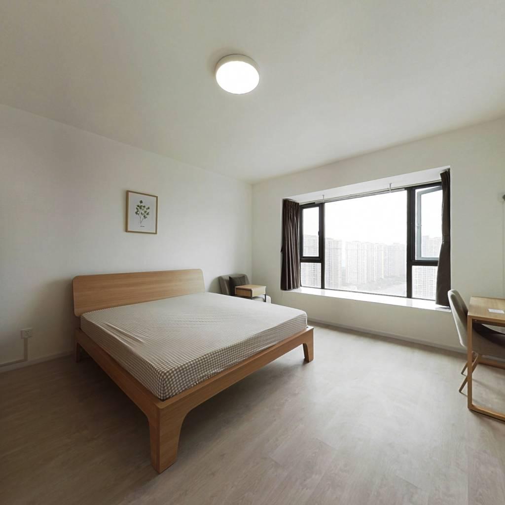 合租·南延新苑 5室1厅 北卧室图