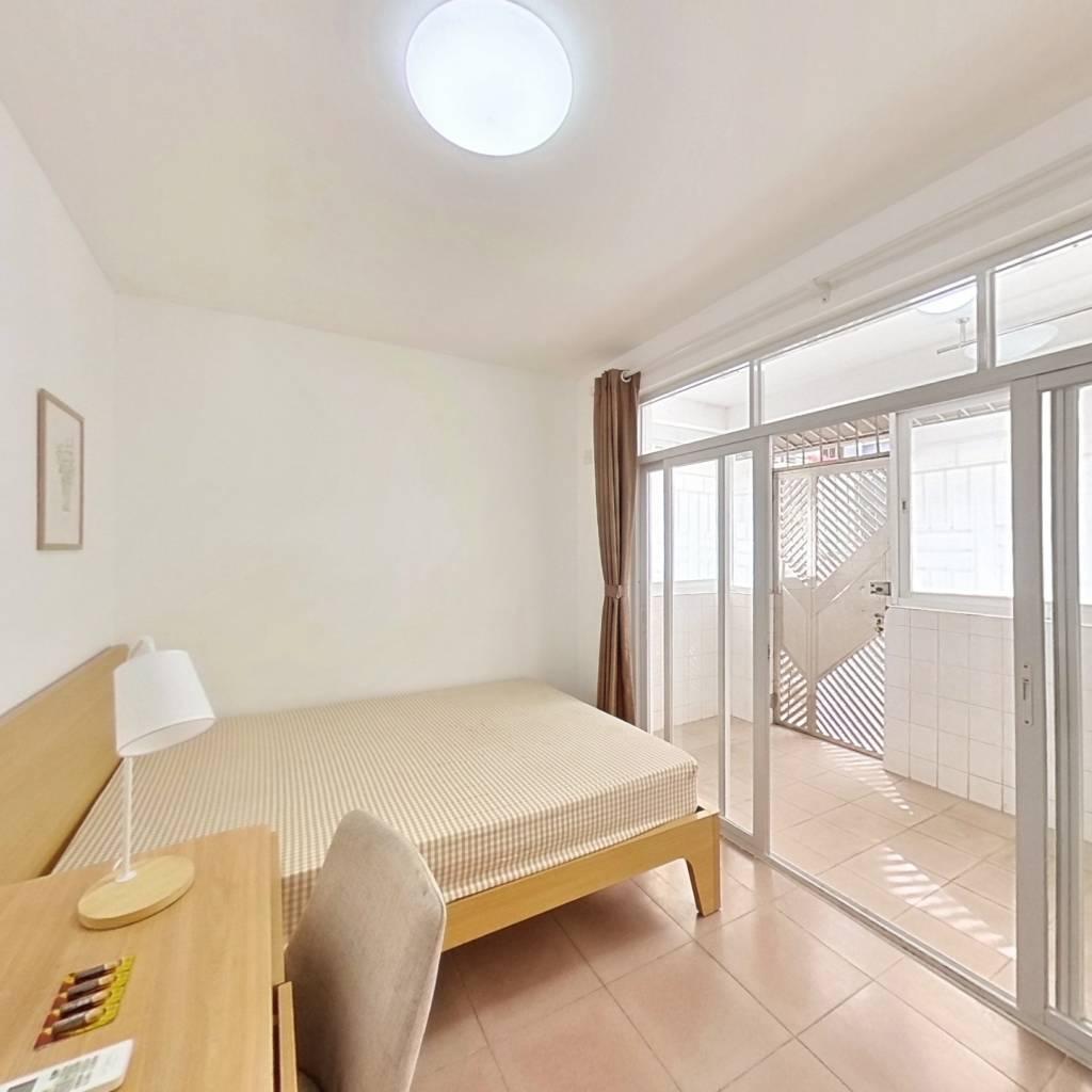 合租·福田花园 4室1厅 西南卧室图
