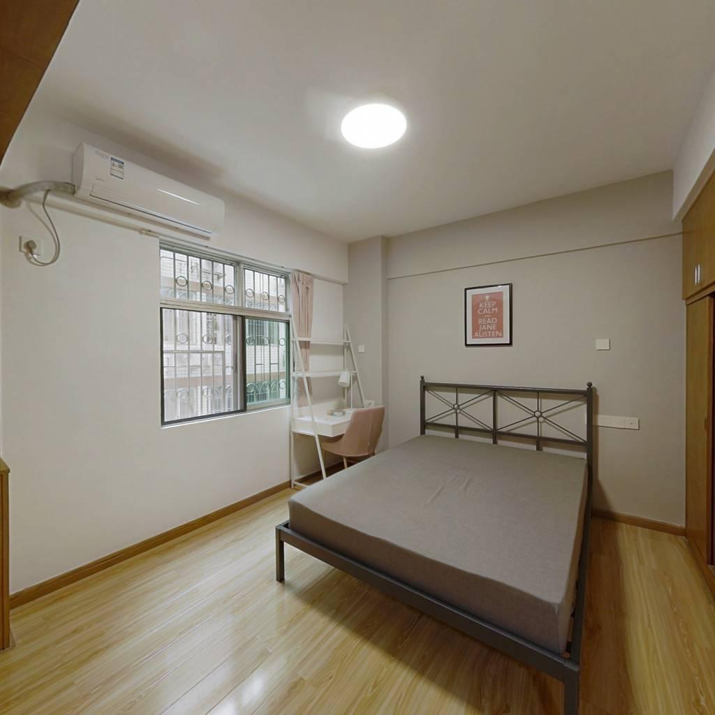 合租·华港花园 4室1厅 东卧室图