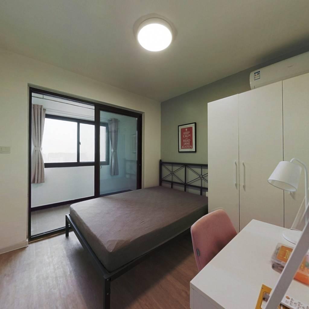 合租·黄山锦庭 3室1厅 北卧室图