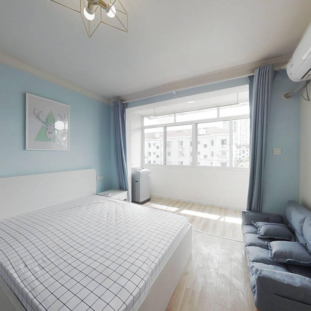 整租·南杨小区(长清路) 1室1厅 南卧室图