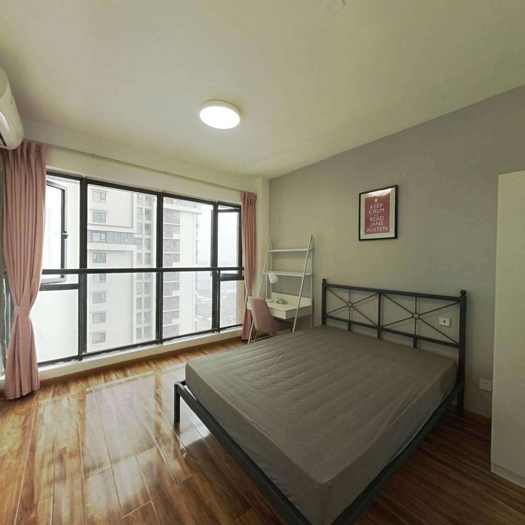 合租·永立星城都 4室1厅 西卧室图