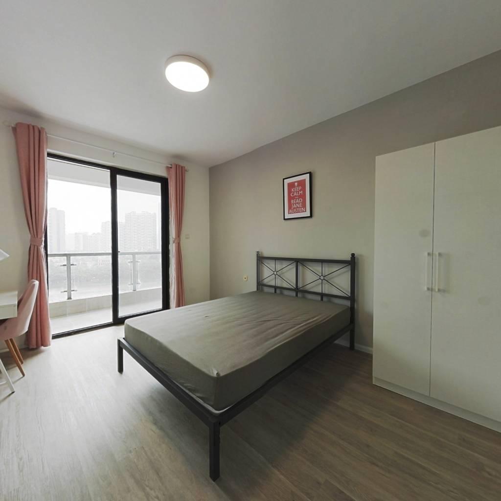 合租·成达佳园 4室1厅 东卧室图