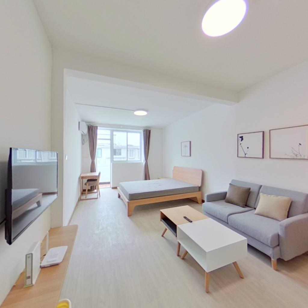 整租·黑山小区 1室1厅 南卧室图