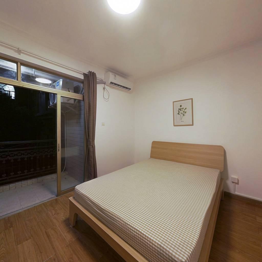 合租·愉景雅苑 4室1厅 南卧室图