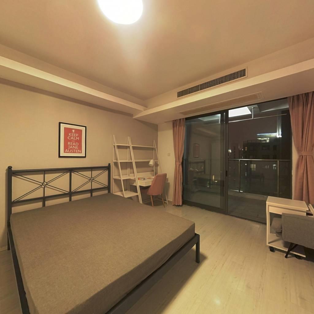 合租·新湖明珠城(一二期) 3室1厅 南卧室图