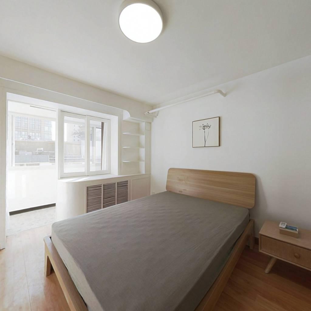 整租·南露园 1室1厅 南卧室图