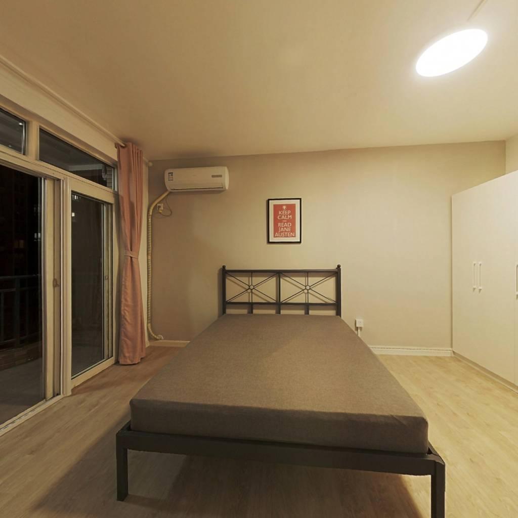 合租·创世纪花园 4室1厅 南卧室图