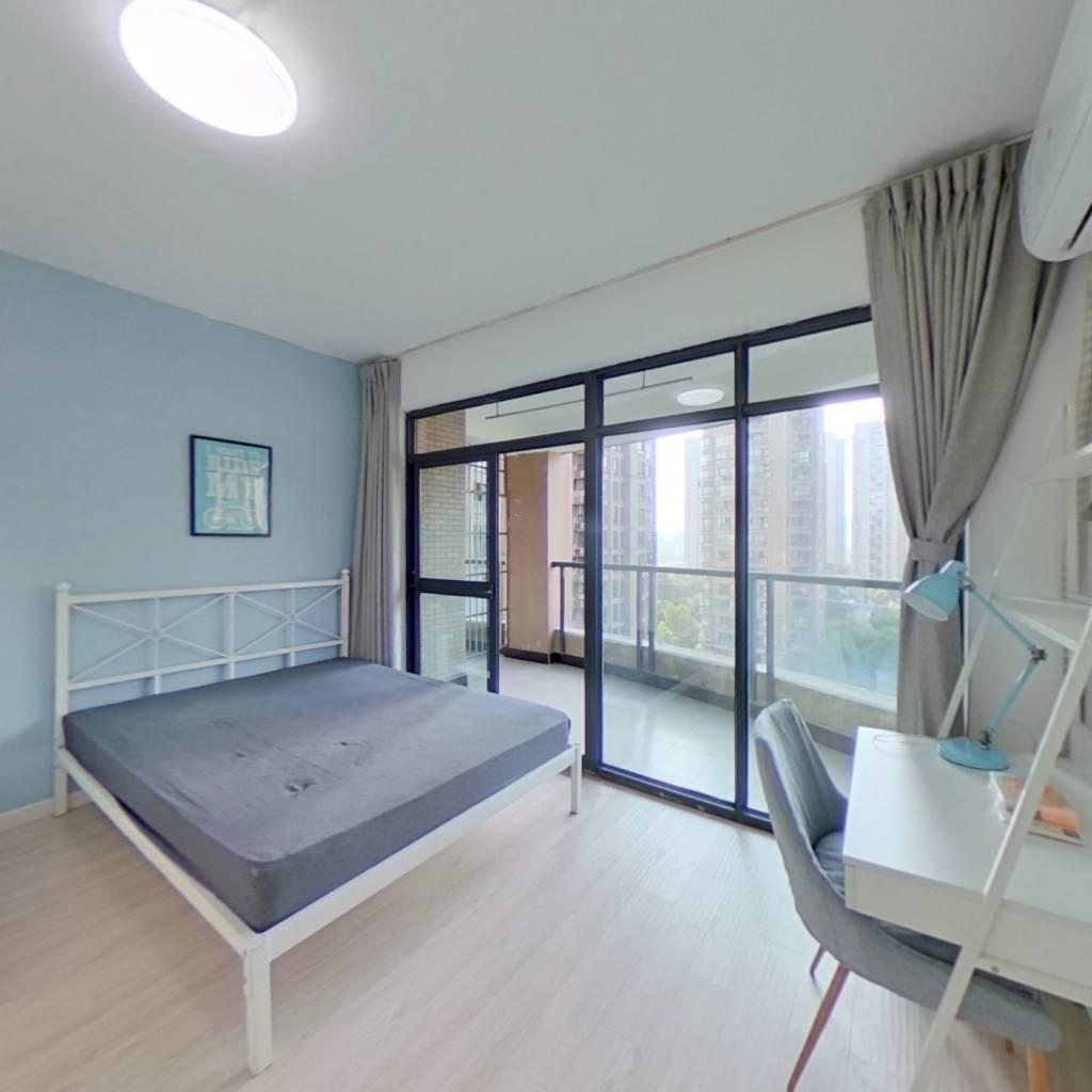 合租·倾城之恋 4室1厅 西卧室图