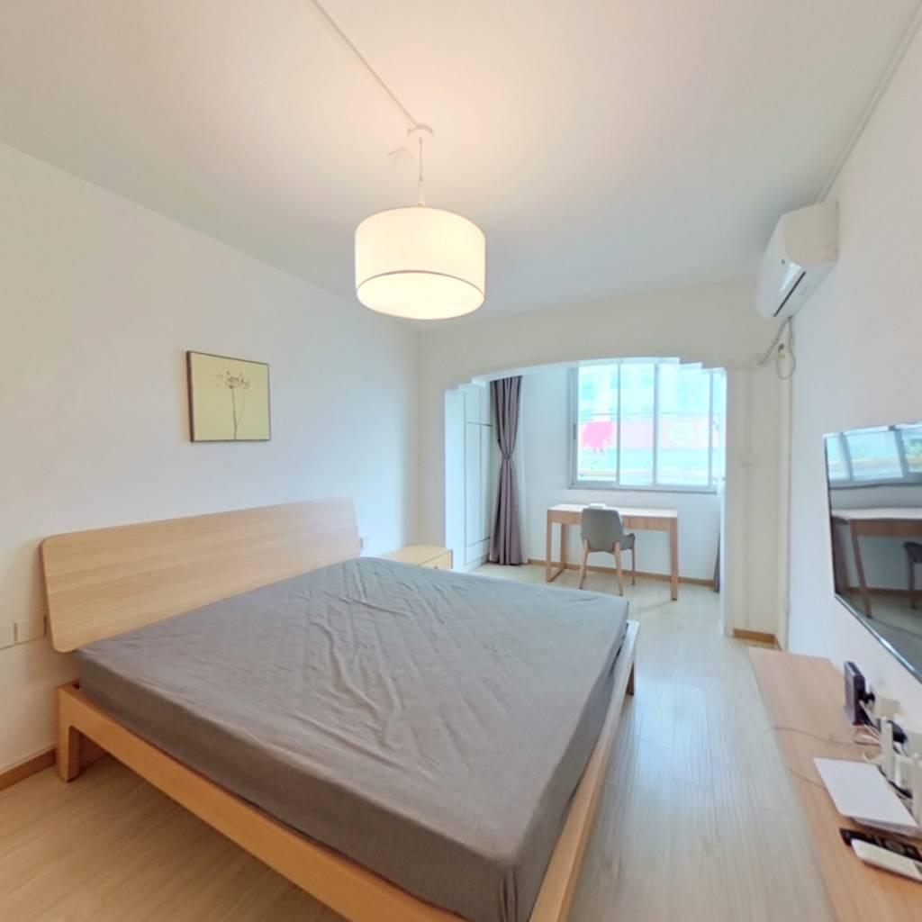 整租·中山北路365到375号 1室1厅 南卧室图