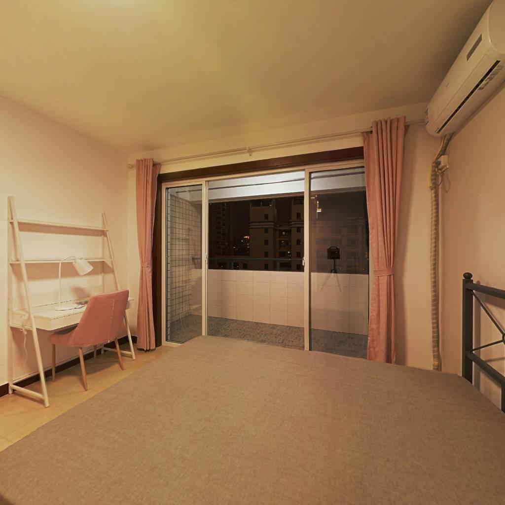 合租·锦凯华苑 4室1厅 北卧室图