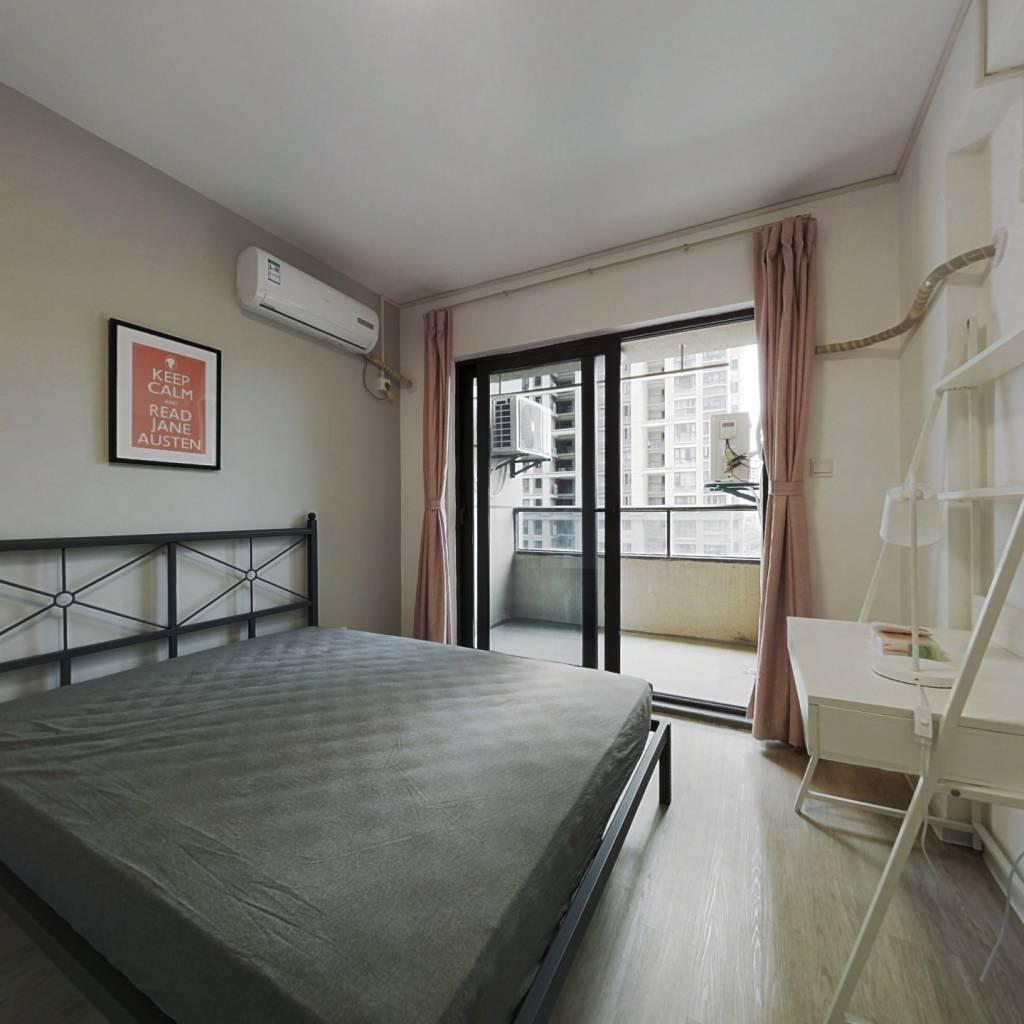 合租·中旅紫金名门 4室1厅 南卧室图