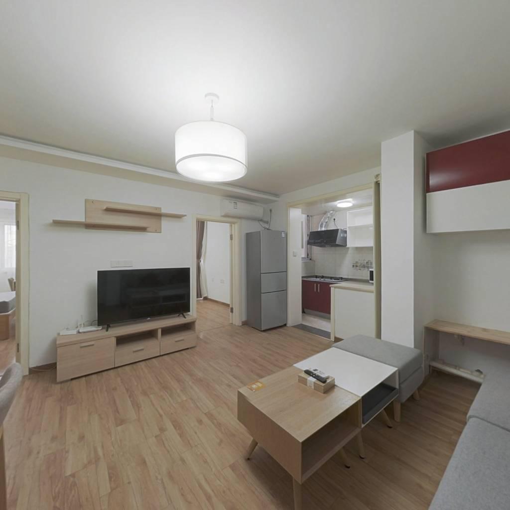 整租·阳光北里 2室1厅 东南卧室图