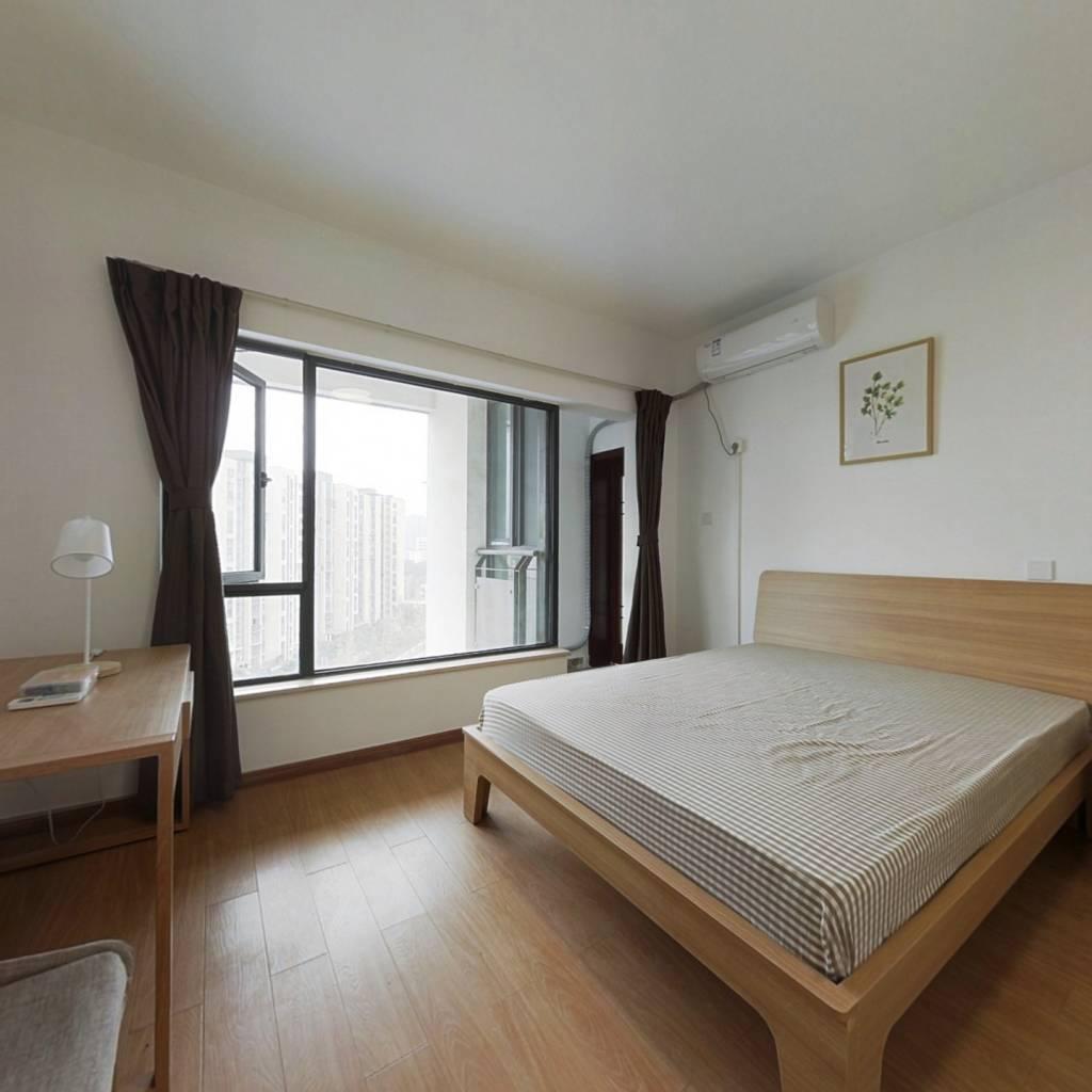 合租·阳曦芙蓉城 3室1厅 西卧室图